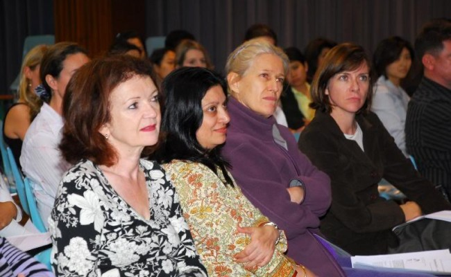 9.  Audience paid full attention